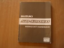 Complemento Manuale officina Suzuki Grand Vitara SQ420WD