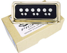TV Jones T-Armond Bridge Position Guitar Pickup, Gold, DeArmond Mount