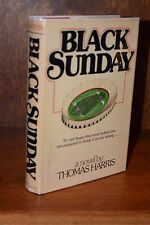 Thomas Harris BLACK SUNDAY 1st Edition Hardcover 1975 Unclipped Silence Lambs