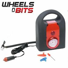WNB 300 PSI Mini Air Compressor 12V Car Auto Portable Pump Tire Inflator w/gauge