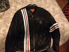 EASY RIDER CAPTAIN AMERICA PETER FONDA LEATHER JACKET...1999 KERR LEATHERS
