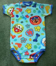 "Adult baby FLEECE BODYSUIT PAW PATROL PUPTASTIC DREAM TEAM   47"" CHEST"