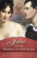 Jane and the Madness of Lord Byron: Being A Jane Austen Mystery-ExLibrary