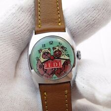 "STAR WARS,Return of Jedi ""EWOK'S DIAL"",Bradley,Manual Wind,KIDS/LADIES WATCH,906"