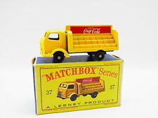 "LOT 33342 | Matchbox 37 B Bantam 2Ton Coca-Cola Lorry LKW neuwertig in ""D""-Box"