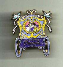 VHTF JAPAN M&P LE 1000 CINDERELLA WITH PRINCE KISS IN COACH WEDDING DISNEY PIN