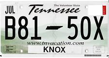 ✿◕‿◕✿ AUTHENTIC** USA  2010's TENNESSEE KNOX COUNTY LICENSE PLATE.