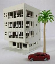 1:160 Outland Models Railway Modern 4-Story Office Building Unpainted N Scale