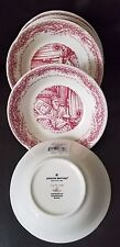 Johnson Brothers Twas the Night Before Christmas Dessert/Fruit Bowl Set Of 8 New