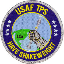 USAF Test Pilot School Class 12A Have Shakeweight Patch