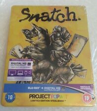 Snatch Exclusive Gallery 1988 Blu-Ray Steelbook Edition Deutsch NEU NEW