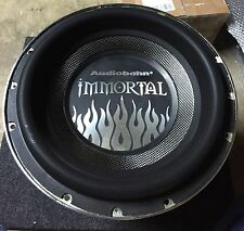 """New Old School Audiobahn AWIS12J 12"""" Immortal Competition Subwoofer,Rare"""
