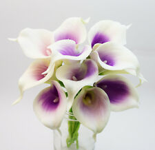 Real Touch Lavender Picasso Calla Lily - Factory Seconds - 12 Stem Bunch
