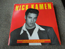 """Nick Kamen Loving You Is Sweeter Than Ever RARE 7"""" Double Pack"""