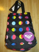 NEW ROXY SCHOOL STUDENT BAG LUNCH COOLER Insulated Box Dots