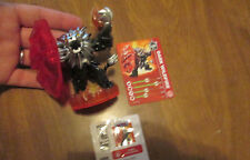SKYLANDERS TRAP TEAM WILDFIRE DARK EDITION + CARD & CODE FROM STARTER PACK
