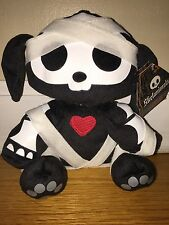 NWT SKELANIMALS RARE DAX DOG IN DISGUISE PUPPY MUMMY COSTUME HALLOWEEN PLUSH