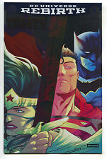 Trinity 1 DC Rebirth NM NYCC Foil Variant Superman Wonder Woman Batman