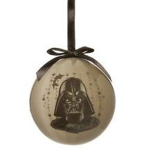 Disney Star Wars Darth Vader Grey Black Christmas Ornament Decoration Bauble