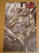 TRUE BLOOD TAINTED LOVE #2 RI A WASH COVER 2011 IDW J. SCOTT CAMPBELL