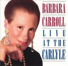 Live at the Carlyle by Barbara Carroll (CD, Oct-1991, DRG (USA))