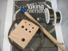 Antique Copper VIKING KNIT Necklace KIT & INSTRUCTIONS #0