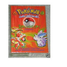 Pokemon Base Set Brushfire Starter Theme Deck Box! Factory Sealed! Ultra Rare!