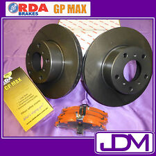 HOLDEN HD, HR (1965-1967) - RDA Front Brake Disc Rotors & Pads SET