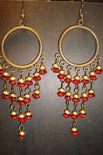 Large Long Indian~Asian Ethnic Boho Chandelier Earrings~ER132~uk seller~