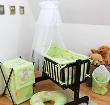 Baby Canopy/ Drape for Rocking Crib/ Swinging Crib / Cradle / Moses Basket White