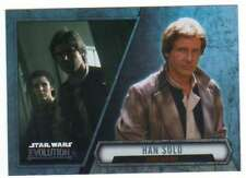 2016 Topps Star Wars Evolution Trading Card #44 Han Solo Rebel General