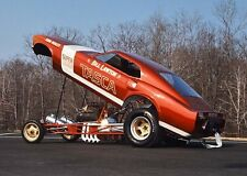 BILL LAWTON TASCA FORD SUPER BOSS MUSTANG FUNNY CAR 16X20 POSTER  #00
