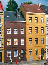11397 Auhagen HO Kit of Schmidt Street 21 / 23 - two houses - C-10 Brand New