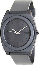 Nixon Men's Time Teller A119524 Black Polyurethane Quartz Watch