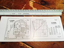 Lionel C&NW Message Pickup Schematic And Diagram For Diesel & Electric