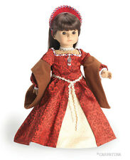 Anne Boleyn Tudor Princess Dress and French Hood fits American Girl dolls