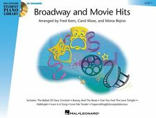 Broadway And Movie Hits Learn to Play Piano Music Book 1 & CD