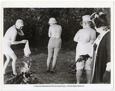 VINTAGE 1970'S BLACK & WHITE PHOTO OF WOMEN THROWING THIER BRA IN THE FIRE