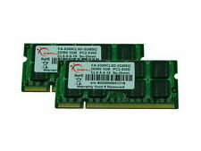 4GB G.Skill DDR2 667MHz Apple Series laptop memory kit PC2-5300 2x2GB (CL5)