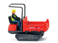 HO scale 66901 Wiking Neuson TRACKED DUMPER with DRIVER FIGURE  1/87 Model