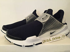 NIKE SOCK DART SP FRAGMENT OBSIDIAN NAVY BLUE US 12 UK 11 46 BLACK HTM WHITE