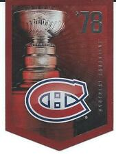 NHL Panini 2012 Coors Light Stanley Cup Collection Montreal Canadiens 1978