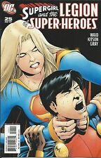 DC Supergirl and the Legion of Superheroes comic issue 25