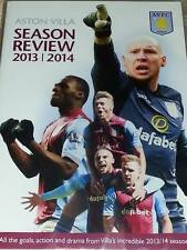 Aston Villa Season Review 2013/2014 DVD Region 0 *New and Sealed*
