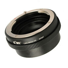 Compatible Nikon G Lens to Fuji Fujifilm X-Muont Camera Adapter