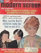 LUCILLE BALL - MODERN SCREEN MAGAZINE - Aug 1969