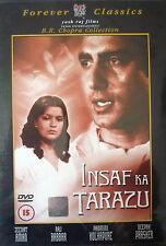 INSAF KA TARAZU - BOLLYWOOD DVD - YRF Bollywood indian movie dvd.