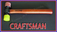 CRAFTSMAN HAND TOOLS 12oz Plastic Tip hammer with hickory wood handle (USA MADE)