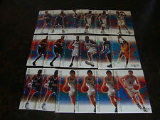 2000-01 Black Diamond Basketball---Lot Of 18---Dupes---Stars Only---See List