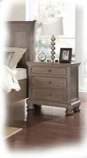 Adair Large 3 Drawer Tawny Timber Bedside - Fully Assembled - BRAND NEW